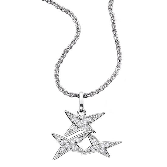 モーブッサン NM-1 スターフォーエバー ペンダント ダイヤモンド