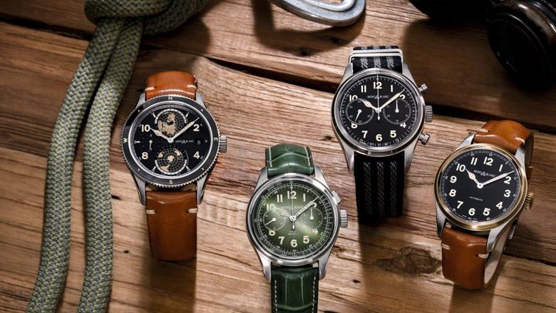 モンブランの腕時計